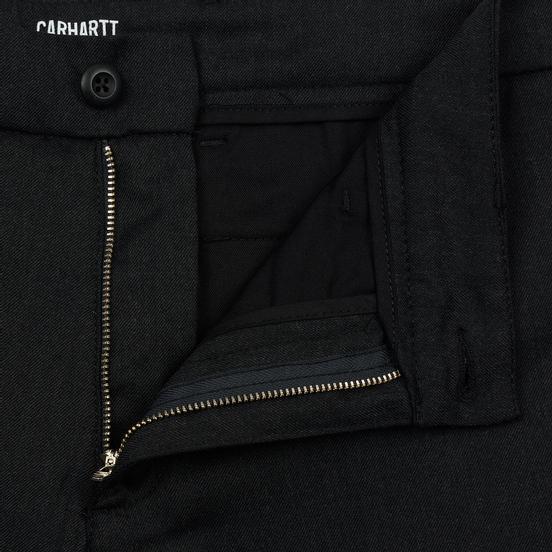Мужские брюки Carhartt WIP Sid 6.5 Oz Black Heather