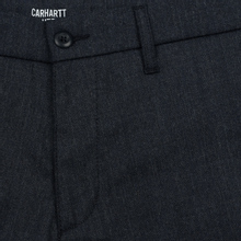 Мужские брюки Carhartt WIP Sid 6.5 Oz Navy Heather фото- 1