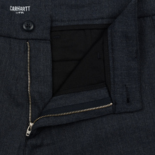Мужские брюки Carhartt WIP Sid 6.5 Oz Navy Heather фото- 2