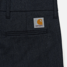Мужские брюки Carhartt WIP Sid 6.5 Oz Navy Heather фото- 4
