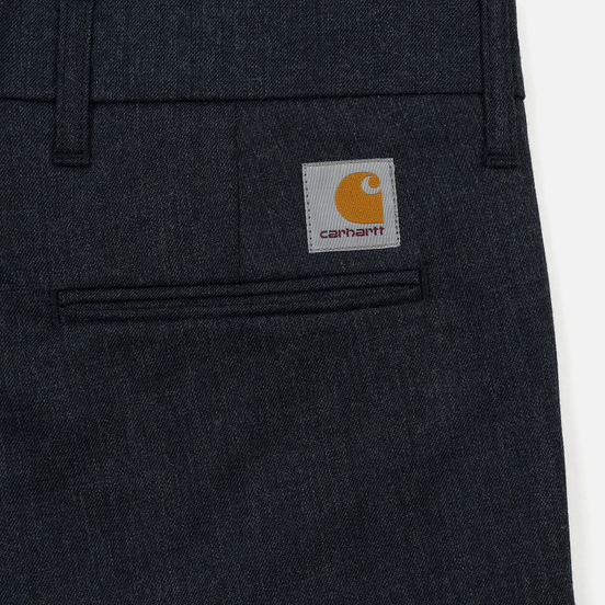Мужские брюки Carhartt WIP Sid 6.5 Oz Navy Heather