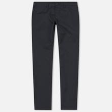 Мужские брюки Carhartt WIP Sid 8.6 Oz Blacksmith Rinsed фото- 0
