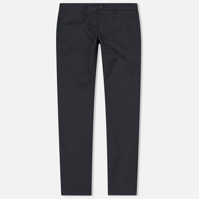 Мужские брюки Carhartt WIP Sid 8.6 Oz Blacksmith Rinsed