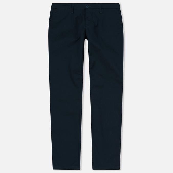 Мужские брюки Carhartt WIP Sid 8.6 Oz Dark Petrol Rinsed