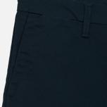 Мужские брюки Carhartt WIP Sid 8.6 Oz Dark Petrol Rinsed фото- 1