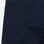 Мужские брюки Carhartt WIP Sid 8.6 Oz Navy Rinsed фото- 1