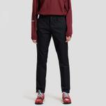 Мужские брюки Carhartt WIP Sid 8.6 Oz Black Rinsed фото- 1