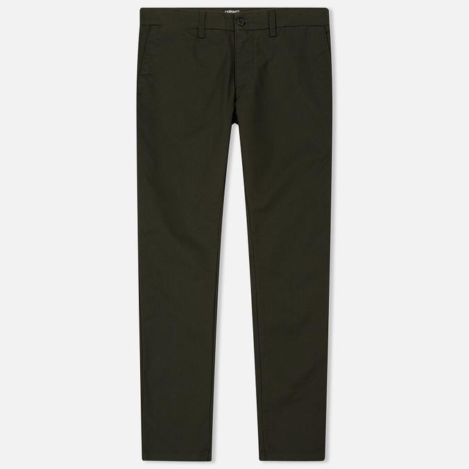 Мужские брюки Carhartt WIP Sid 8.6 Oz Cypress Rinsed