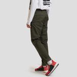 Мужские брюки Carhartt WIP Sid 8.6 Oz Cypress Rinsed фото- 2