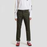 Мужские брюки Carhartt WIP Sid 8.6 Oz Cypress Rinsed фото- 1