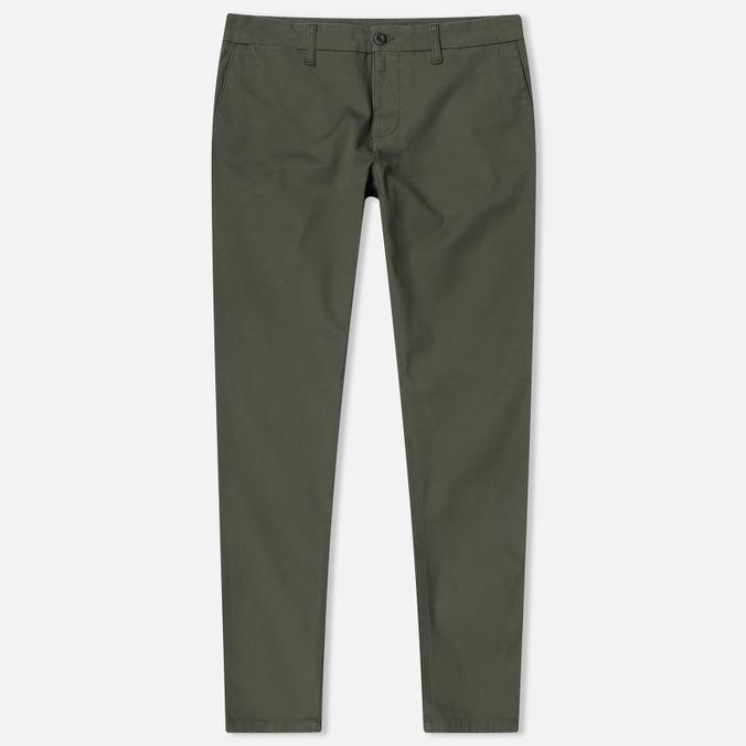 Мужские брюки Carhartt WIP Sid 9.1 Oz Cypress Rinsed