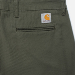 Мужские брюки Carhartt WIP Sid 9.1 Oz Cypress Rinsed фото- 3