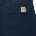 Мужские брюки Carhartt WIP Sid 9.1 Oz Navy Rinsed фото- 3
