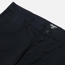 Мужские брюки Carhartt WIP Sid 8.6 Oz Dark Navy Rinsed фото- 1