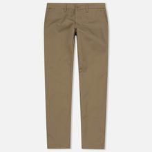 Мужские брюки Carhartt WIP Sid 8.6 Oz Leather Rinsed фото- 0