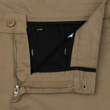 Мужские брюки Carhartt WIP Sid 8.6 Oz Leather Rinsed фото- 1