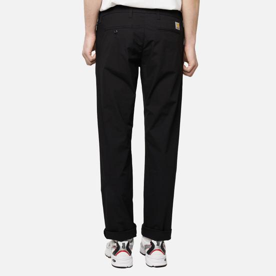 Мужские брюки Carhartt WIP Sid Pant 5.5 Oz Black (Rinsed)