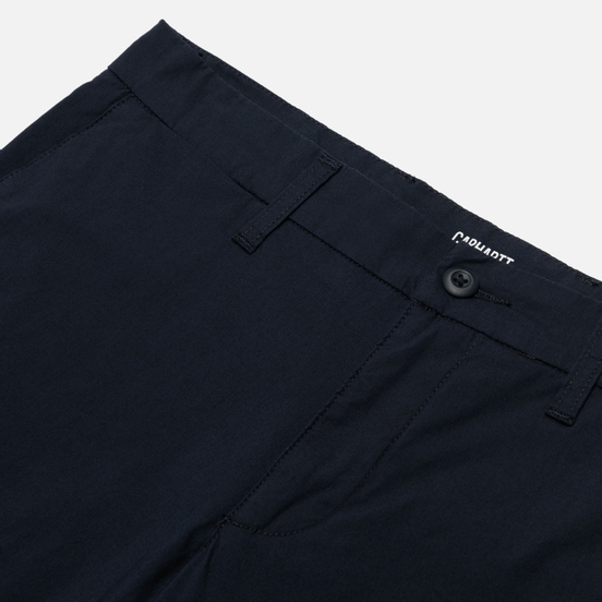 Мужские брюки Carhartt WIP Sid Pant 5.5 Oz Dark Navy Rinsed