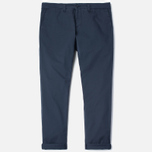 Мужские брюки Carhartt WIP Sid Trabuco Stretch Twill 6 Oz Duke Blue Rinsed фото- 0