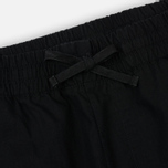 Мужские брюки Carhartt WIP Valiant Jogger 6.5 Oz Black Rinsed фото- 1