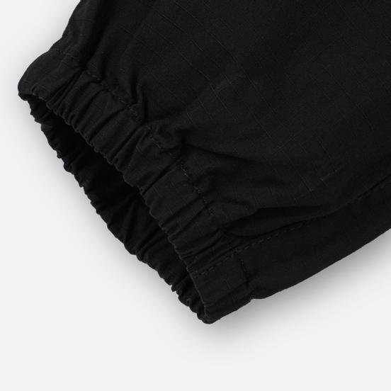 Мужские брюки Carhartt WIP Valiant Jogger 6.5 Oz Black Rinsed