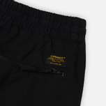 Мужские брюки Carhartt WIP Valiant Jogger 6.5 Oz Black Rinsed фото- 4