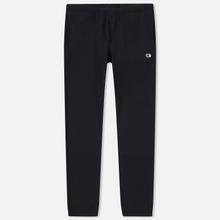 Мужские брюки Champion Reverse Weave Basic Elastic Cuff Heavyweight Black фото- 0