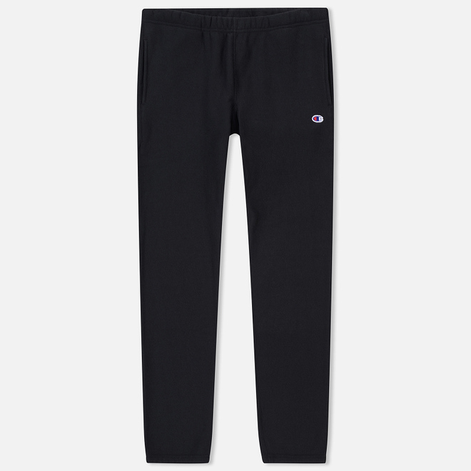 Мужские брюки Champion Reverse Weave Basic Elastic Cuff Heavyweight Black