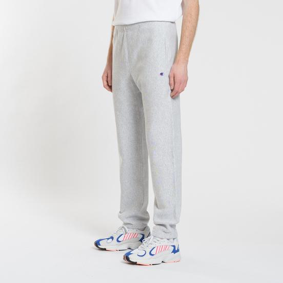 Мужские брюки Champion Reverse Weave Basic Elastic Cuff Heavyweight Light Grey