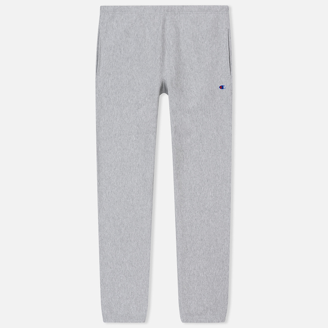 Мужские брюки Champion Reverse Weave Basic Elastic Cuff Heavyweight Light Grey