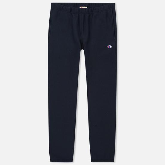 Мужские брюки Champion Reverse Weave Basic Elastic Cuff Heavyweight Navy
