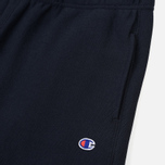Мужские брюки Champion Reverse Weave Basic Elastic Cuff Heavyweight Navy фото- 1