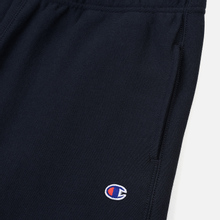 Мужские брюки Champion Reverse Weave Basic Elastic Cuff Heavyweight Navy фото- 1