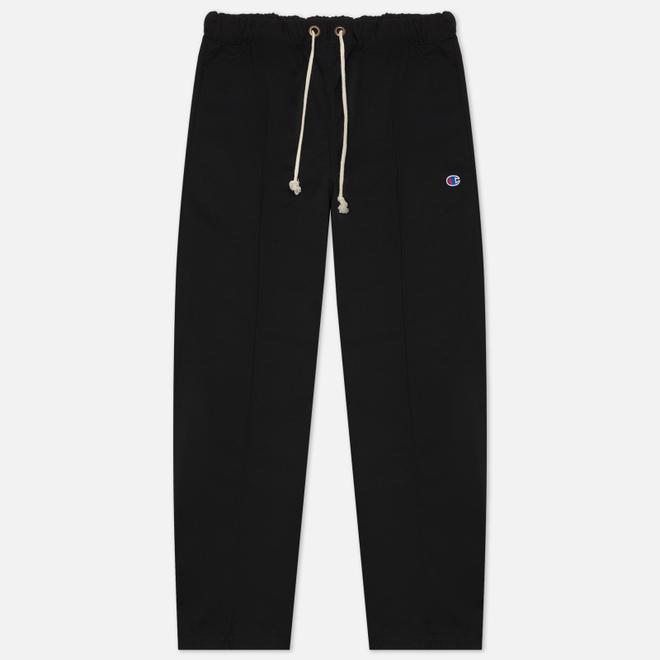 Мужские брюки Champion Reverse Weave Diagonal Poly Woven Straight Hem Black
