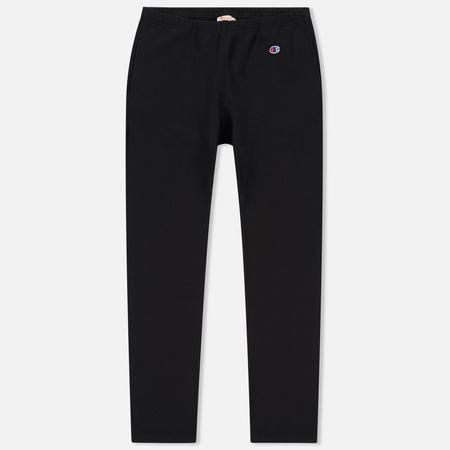 Мужские брюки Champion Reverse Weave Elastic Cuff Black