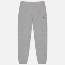Мужские брюки Champion Reverse Weave Elastic Cuff Brushed Fleece Light Grey