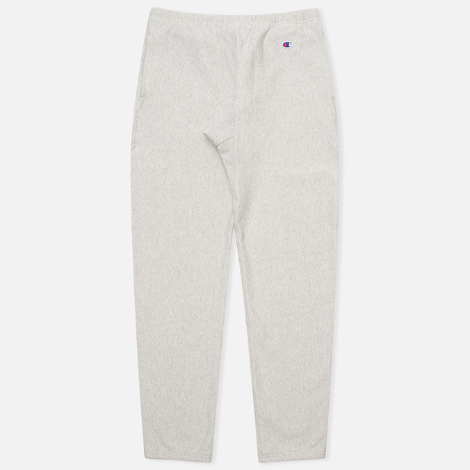 Champion Reverse Weave Elastic Cuff Men`s Trousers Light Grey
