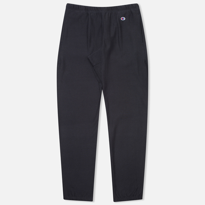 Champion Reverse Weave Elastic Cuff Men`s Trousers Navy