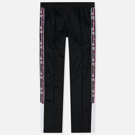 Мужские брюки Champion Reverse Weave Long Side Logo Black