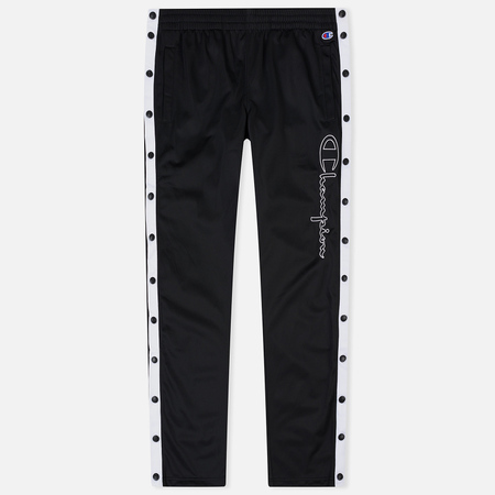 Мужские брюки Champion Reverse Weave Popper Track Black/White