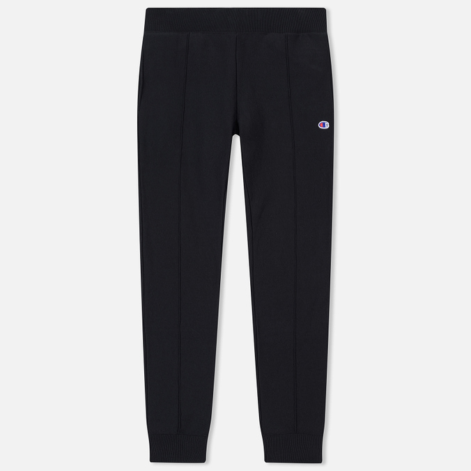 Мужские брюки Champion Reverse Weave Rib Cuffed Joggers Black