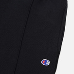 Мужские брюки Champion Reverse Weave Rib Cuffed Joggers Black фото- 1