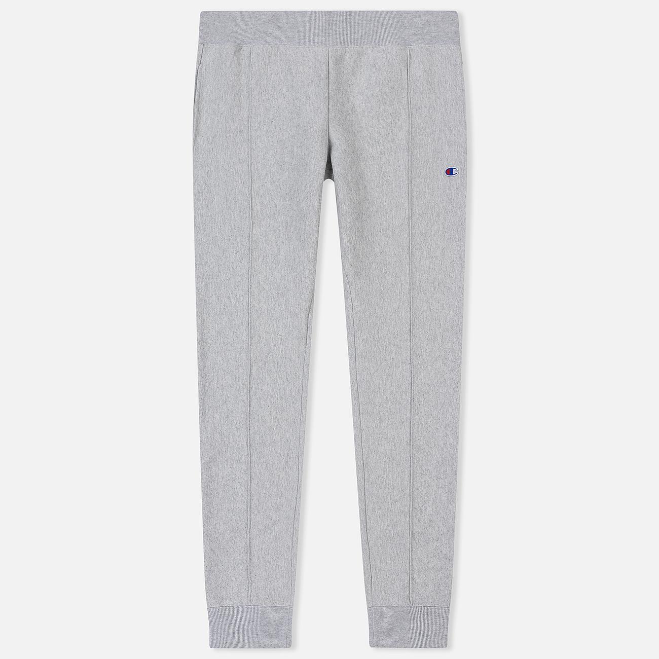 Мужские брюки Champion Reverse Weave Rib Cuffed Joggers Light Grey