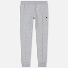 Мужские брюки Champion Reverse Weave Rib Cuffed Joggers Light Grey фото- 0