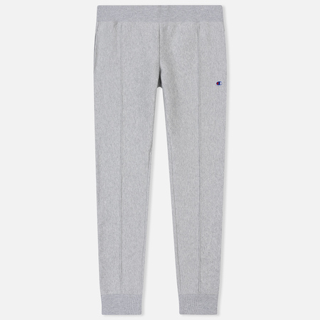 Мужские брюки Champion Reverse Weave Rib Cuffed Joggers Light Grey