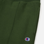 Мужские брюки Champion Reverse Weave Rib Cuffed Joggers Military Green фото- 1