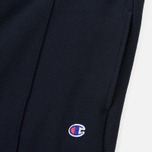 Мужские брюки Champion Reverse Weave Rib Cuffed Joggers Navy фото- 1