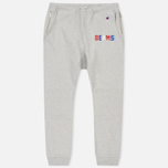 Мужские брюки Champion Reverse Weave x Beams Elastic Cuff Heather Grey фото- 0