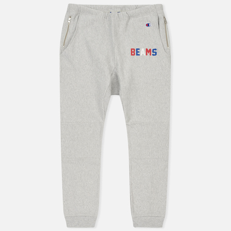 Мужские брюки Champion Reverse Weave x Beams Elastic Cuff Heather Grey