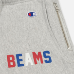 Мужские брюки Champion Reverse Weave x Beams Elastic Cuff Heather Grey фото- 1
